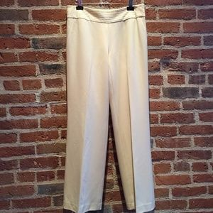 BANANA REPUBLIC / Cream Wool Dress Slacks / NWT